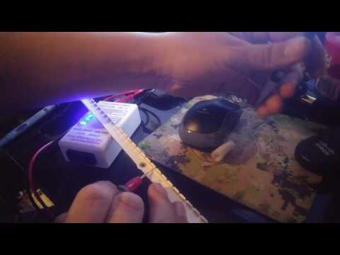 Fixing Samsung LED backlights to ES6003 and other ES series
