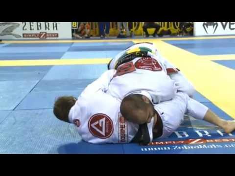 Bernardo Faria vs AJ Agazarm 2015 IBJJF Pan Ams  Open Class