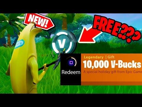 NEW! How to get 10,000 V-BUCKS in Fortnite: Battle Royale FOR FREE??? *NEW*