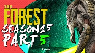 The Forest Alpha 0.15 UPDATE! Season 15 Episode 5 - SECRET DOORS?! - DEEP DIVING!