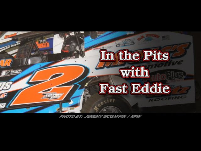In the Pits with Fast Eddie Ronnie Johnson 8 16 19 Malta win interview