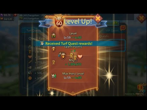 [Lord Mobile] Reach To Level 60!!!