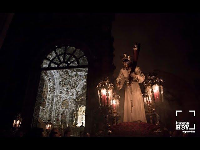 VÍDEO: Vía Crucis del Cristo del Amor por el interior de la parroquia de San Mateo