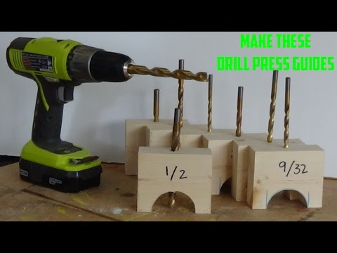 Drill Perfect Holes Every Time | Simple Drill Guides