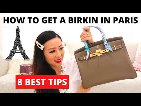 How I got my Birkin in Paris||Tips on how to get hermes bags in Paris||爱马仕巴黎攻略干货