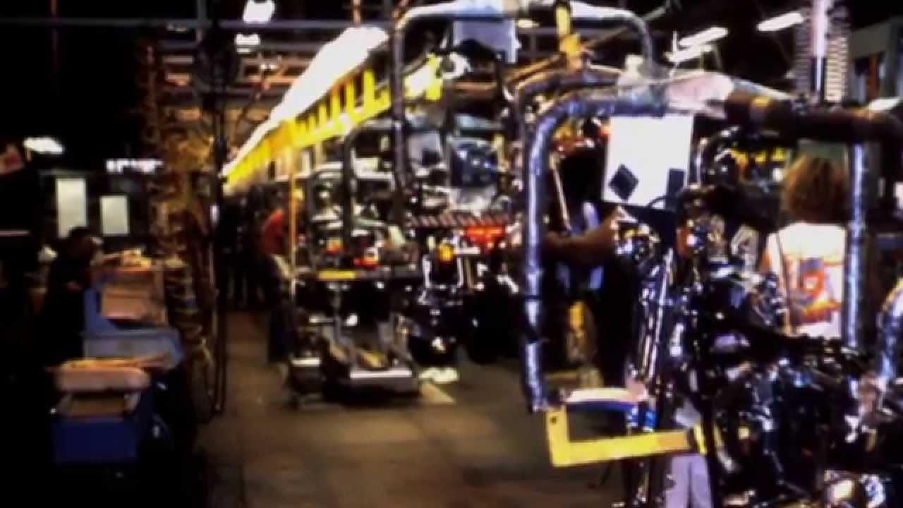 Harley-Davidson Factory / Museum York, Pennsylvania 1988 - YouTube