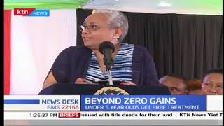 First Lady Margaret Kenyatta awarded Eastern Africa Lifetime Achievement Award