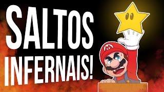 SALTOS INFERNAIS! - SUPER MARIO 664 #06