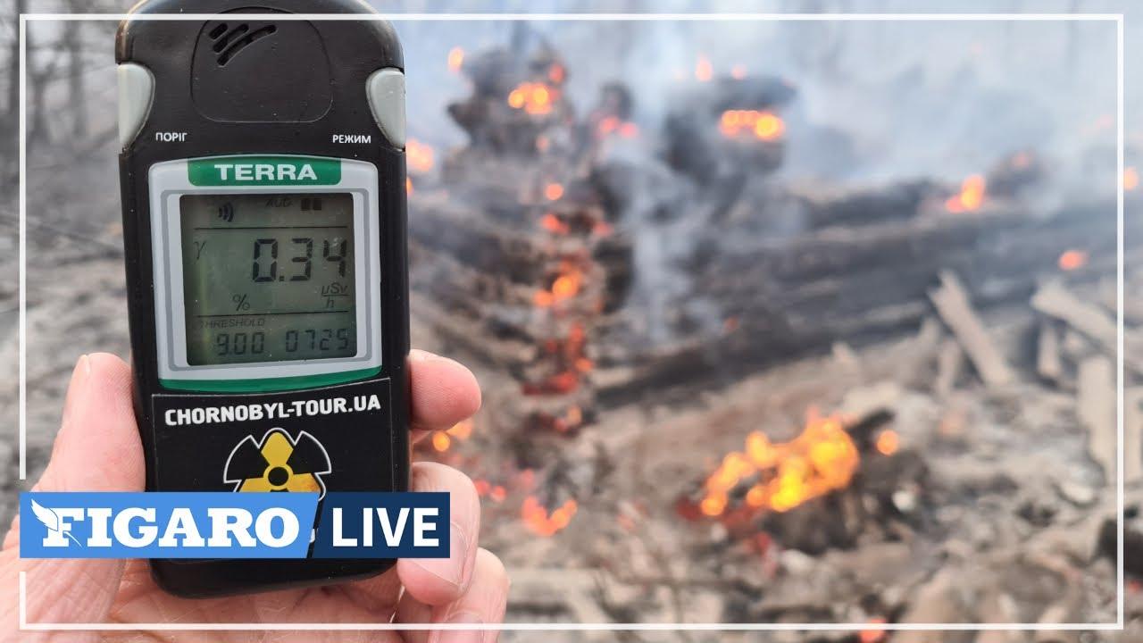 ☢️À Tchernobyl, «le PIRE INCENDIE jamais observé» depuis 1986 selon Greenpeace