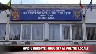 Ovidiu Doroftei, noul șef al Poliției Locale