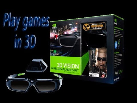 cfc692dc1384 how to setup Nvidia Stereoscopic 3D to Play games in 3d with Discover  Glasses