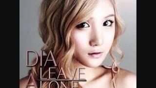 DIA - Track 01 - Leave Alone