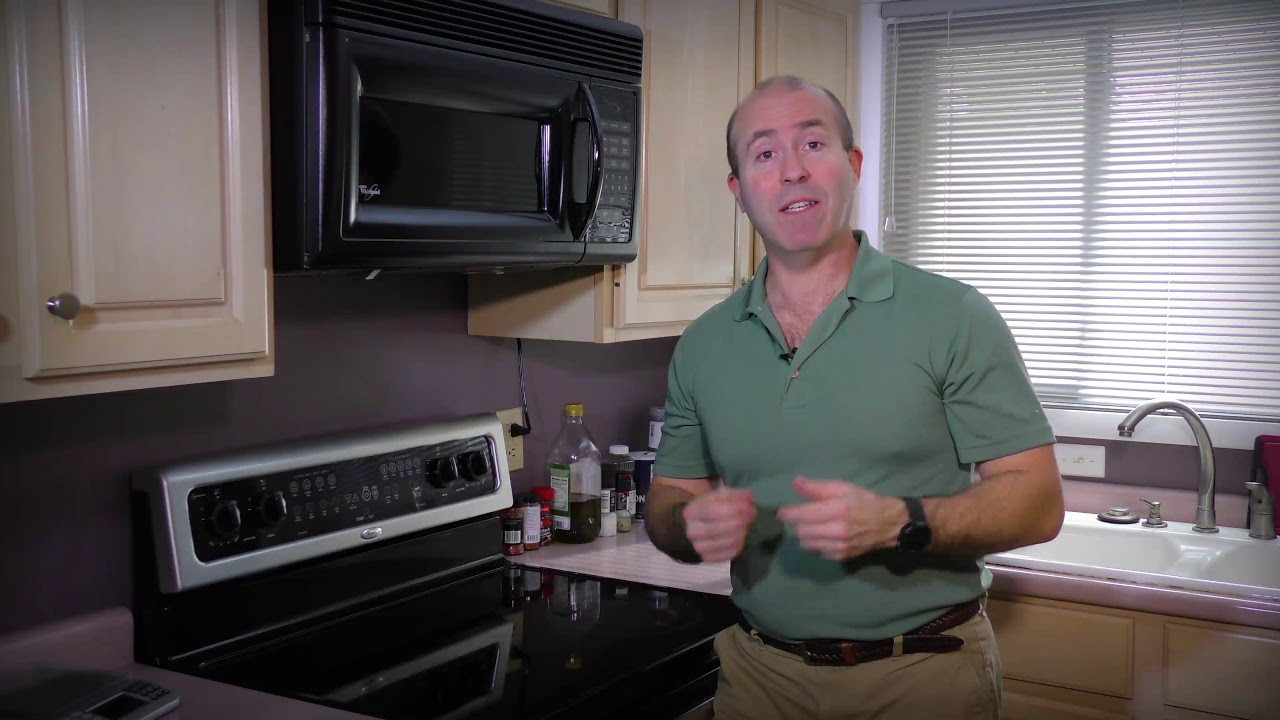 Cleaning Your Microwave Grease Filter