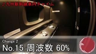 【環境音よくするプロジェクト】第1弾「九州新幹線車内チャイム」