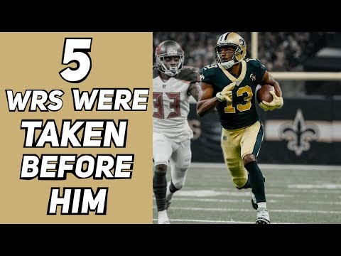 Who Were The 5 WRs Taken Before Michael Thomas? How Did Their Careers Turn Out?