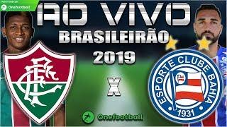 Fluminense 2x0 Bahia  Brasileirão 2019  Parciais Cartola FC  25ª Rodada  Narração