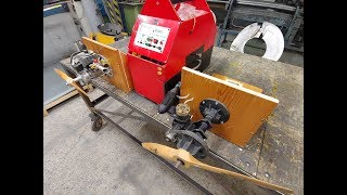 HP 61 Gold cup Byron drive & Converted 26cc petrol weed wacker engine Test Run