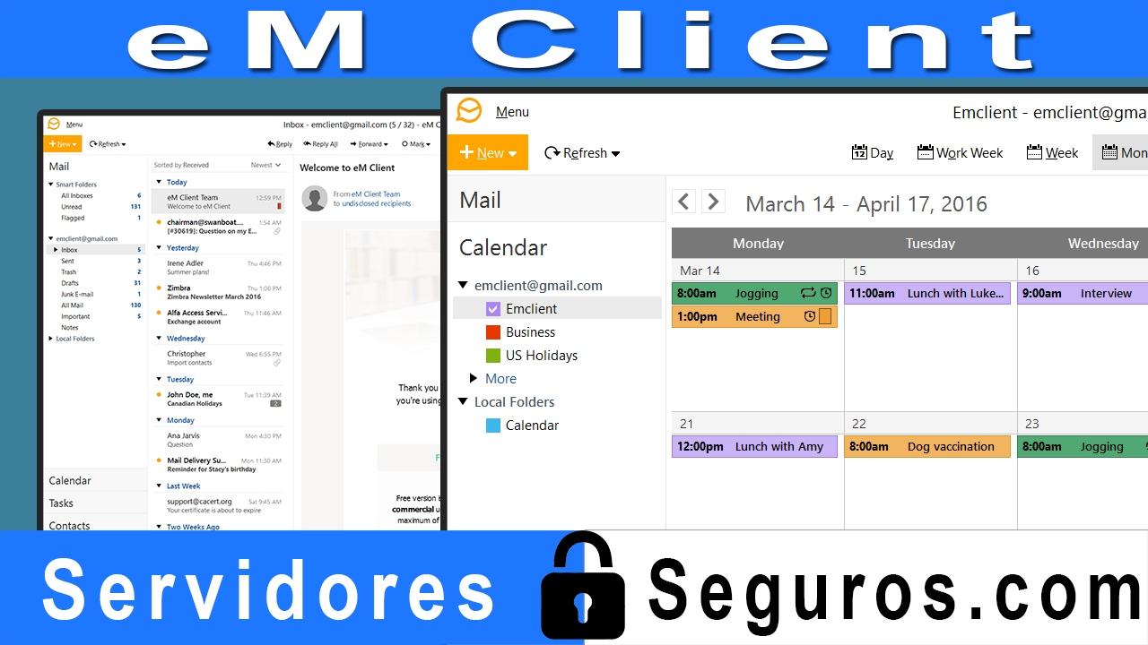 Programa Para Administrar Email Desde Pc Em Client Youtube