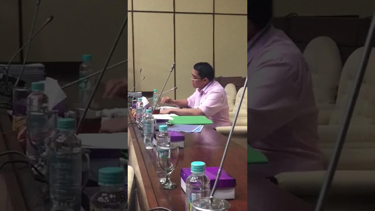 Arteria Dahlan dalam Rapat dengan Komisi II DPR, 2 Februari 2017