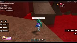 Acting like a noob while doing the harlem shake/Roblox Speed Run 4
