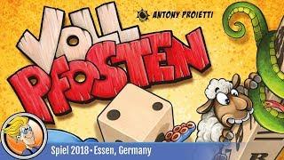 Vollpfosten — game overview at SPIEL '18
