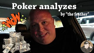 """Poker analyzes by the """"Feather"""""""