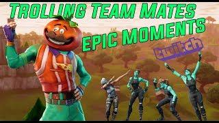 Fortnite | TROLLING FRIENDS | EPIC MOMENTS| Twitch Moments