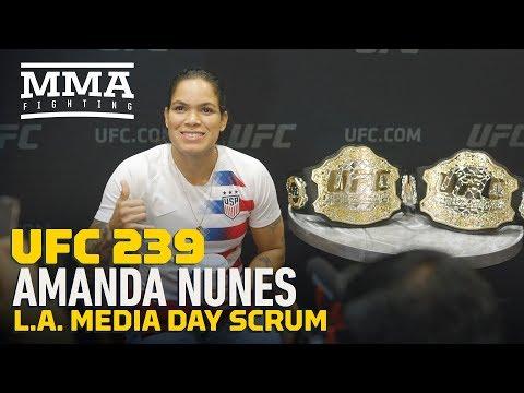 Video: Amanda Nunes says Dana White predicted she would beat Cris Cyborg