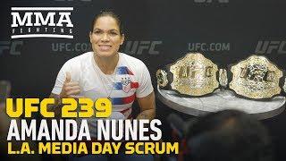 UFC 239: Amanda Nunes Says Dana White Predicted She Would Beat Cris Cyborg - MMA Fighting