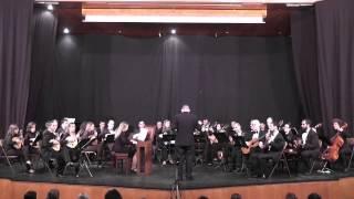 Orquesta Vicente Aleixandre. Concierto para clavecín y orquesta de J. S. Bach. 2º tempo