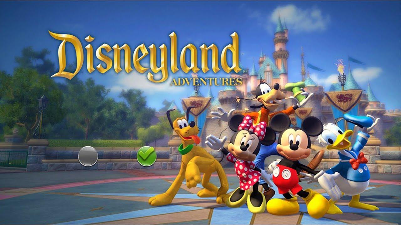 Mickey Mouse Donald Et Dingo Jeux Vidéo De Dessin Animé En Français Disneyland Adventures 1