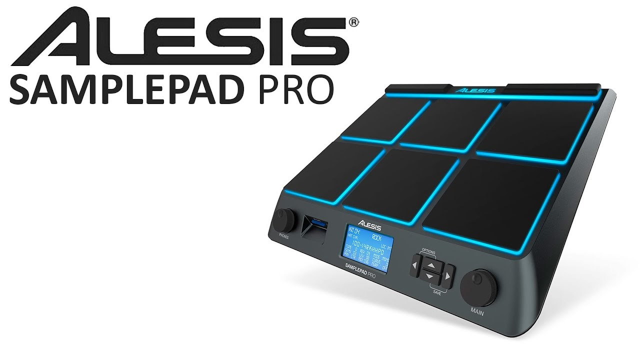 Alesis SamplePad Pro Percussion Pad - YouTube