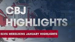 CBJ Highlights | Elvis Merzlikins unbelievable January saves