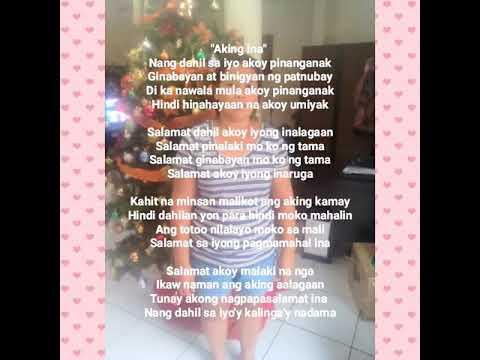 Full Download] Tula Para Kay Ina Ang Aking Pinakamamahal Na Ina
