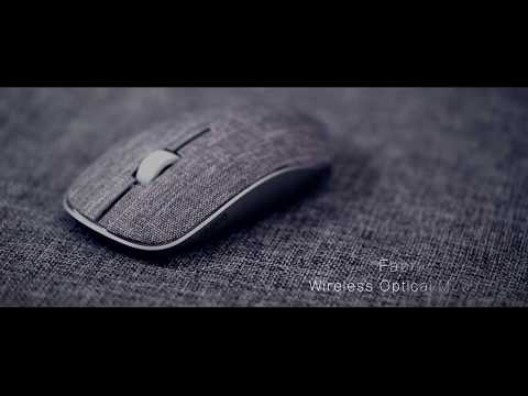 World's First Wireless Fabric Mouse: Rapoo 3510 Plus