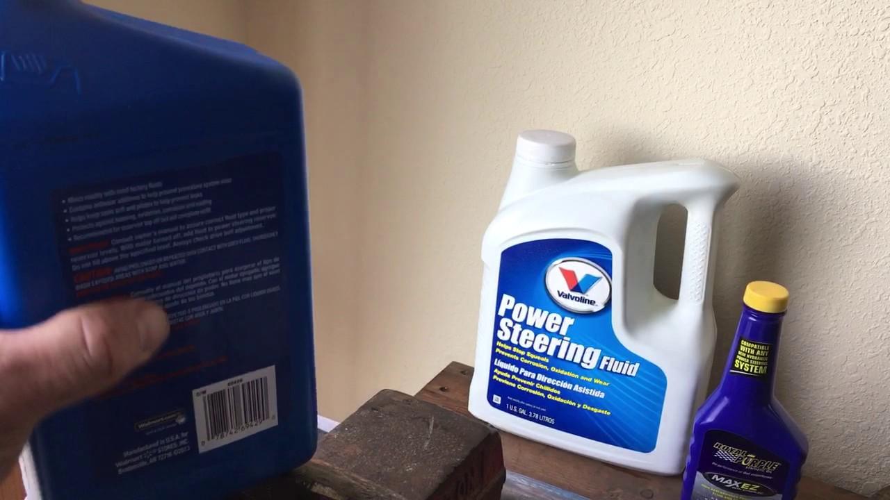 WARNING Walmart Super Tech power steering fluid DO NOT USE