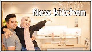 NEW KITCHEN TOUR! We built our own open kitchen... | Ad | Amena
