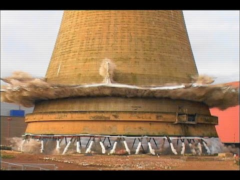 Calder Hall Cooling Towers @ Sellafield - Controlled Demolition, Inc.