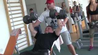 Bodybuilding event in Břeclav
