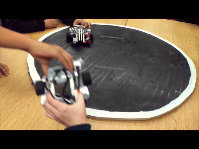 LEGO EV3 Mindstorms Sumo Bot Competition 2016