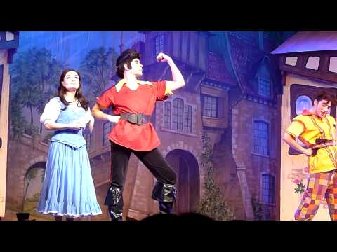 Thumbnail: Belle Runs Into Gaston/Inflatable Ring Scene - JEDWARD In Beauty And The Beast 22/12/13