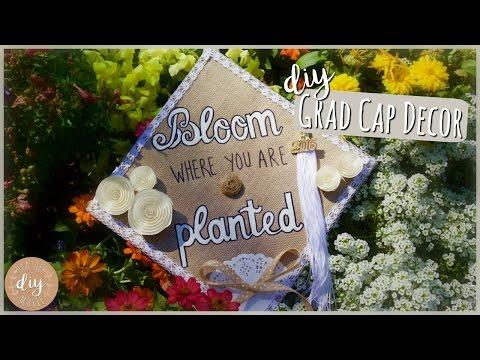 DIY Graduation Cap Decoration