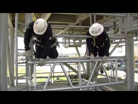 Dynamic Industries - Safe Deck Scaffold System