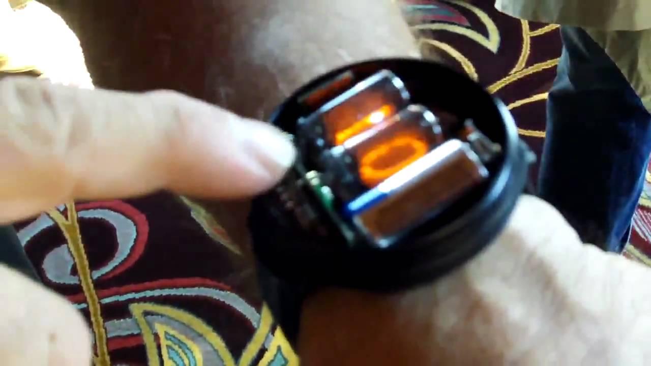 Steve Wozniak Showing Off His NIXIE Tube Watch