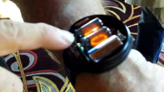 Steve Wozniak Showing Off His NIXIE Tube Watch