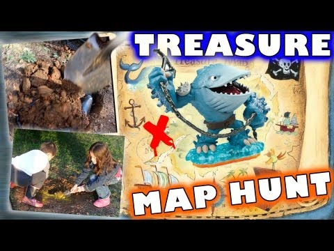 A Real Thumpback Treasure Hunt  W/ Map (New Meaning For Skylanders HUNTING)
