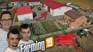 """Modernizacja Gospodarstwa 2020 [Rozbudowa] ☆ Żniwa Rzepaku ✔ """"Sąsiedzi""""#43 Farming Simulator 19☆ MST"""
