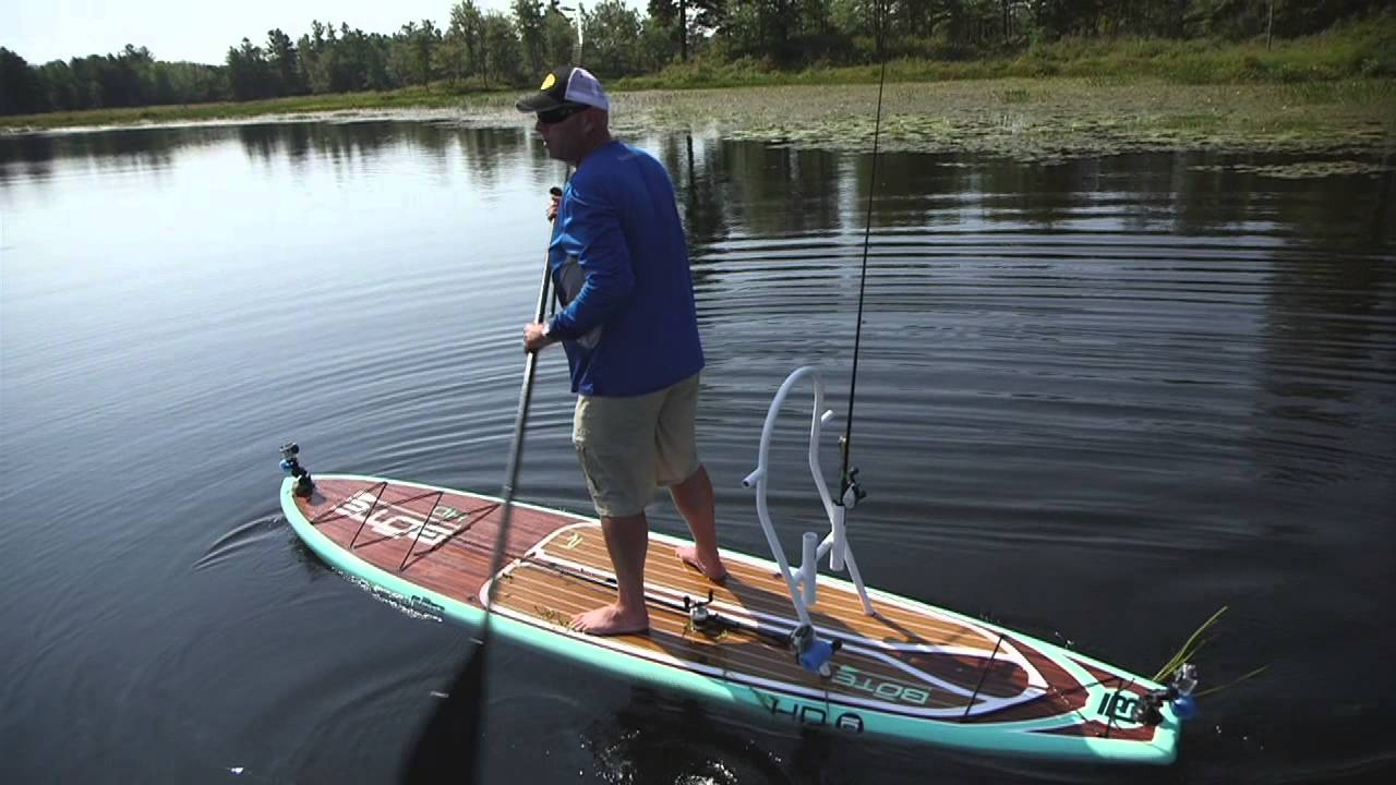 Stand Up Paddle Board Weedline Wackfest For Largemouth