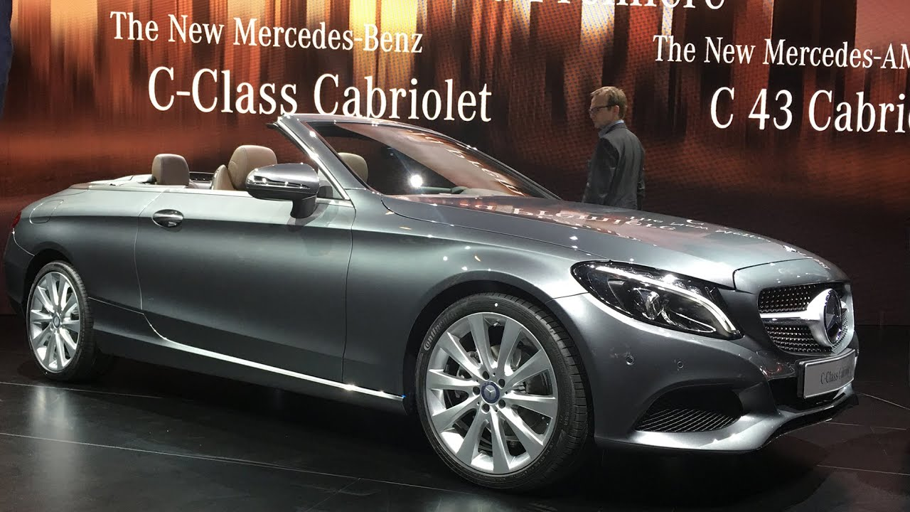 mercedes c klasse cabrio 2016 amg c 43 cabrio. Black Bedroom Furniture Sets. Home Design Ideas