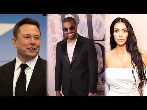 Kanye West's Running for PRESIDENT! Kim Kardashian, Elon Musk and More REACT